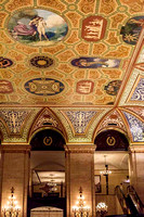 Palmer House -- ceiling
