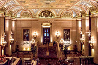 Palmer House -- looking at bar from mezzanine